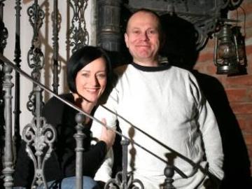 """Ola Turkiewicz i Jacek """"Wiejski"""" Górski, twórcy i organizatorzy Koncertu Niepodległości (fot.Agencja Gazeta)"""