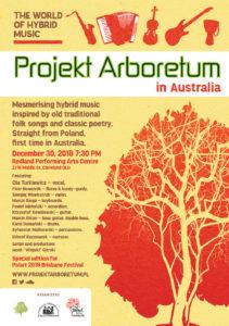 Projekt Arboretum special edition for PolArt Festival